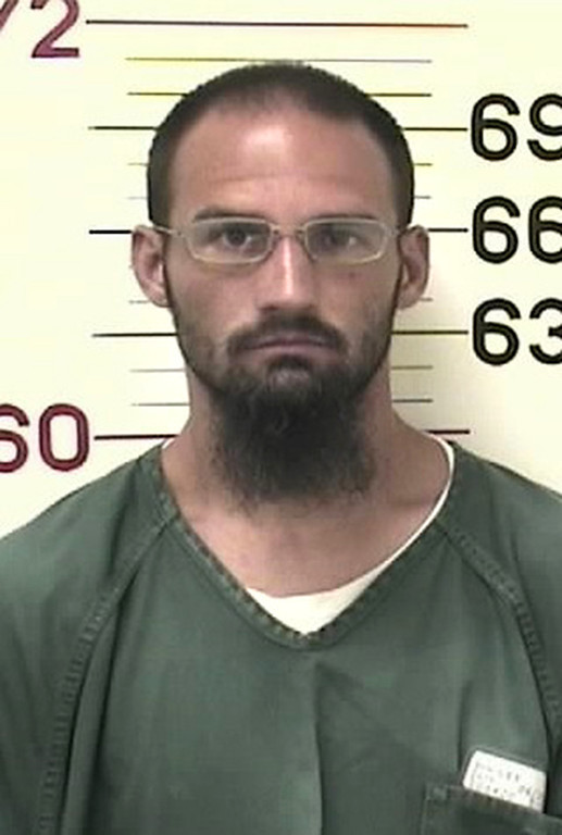 . The hostage taker was identified by his sister as Don Pooley, 34. He had convictions dating back to 1997 for aggravated vehicular theft, possession of marijuana, escape, possession of drug paraphernalia, forgery, vehicular eluding, possession of a weapon by a previous offender and smuggling contraband in prison, according to Colorado Bureau of Investigation records. Phot provided by Colorado Dept. of Corrections
