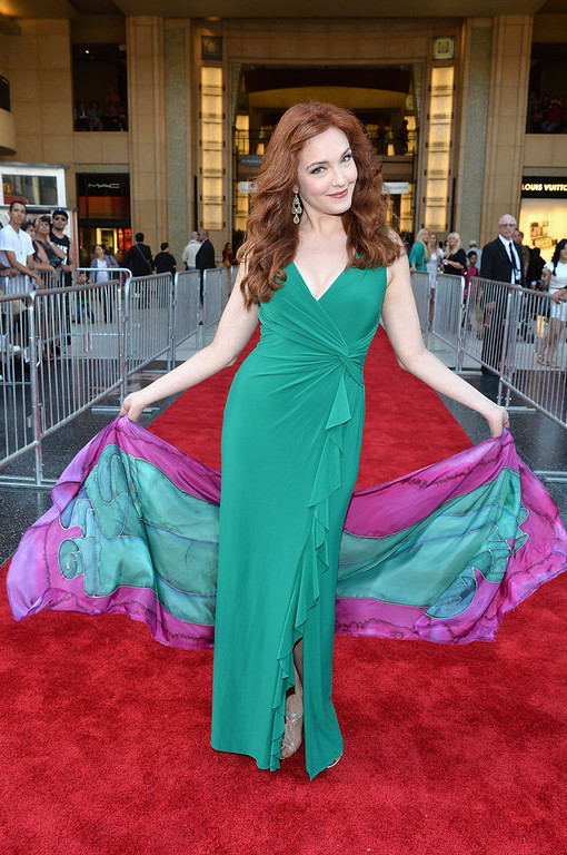 . Actress Amy Yasbeck attends the 41st AFI Life Achievement Award Honoring Mel Brooks at Dolby Theatre on June 6, 2013 in Hollywood, California. Special Broadcast will air Saturday, June 15 at 9:00 P.M. ET/PT on TNT and Wednesday, July 24 on TCM as part of an All-Night Tribute to Brooks.  (Photo by Alberto E. Rodriguez/Getty Images for AFI)