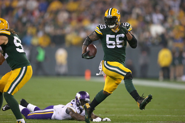 PHOTOS: Green Bay Packers beat Minnesota Vikings 42-10, NFL Thursday night football