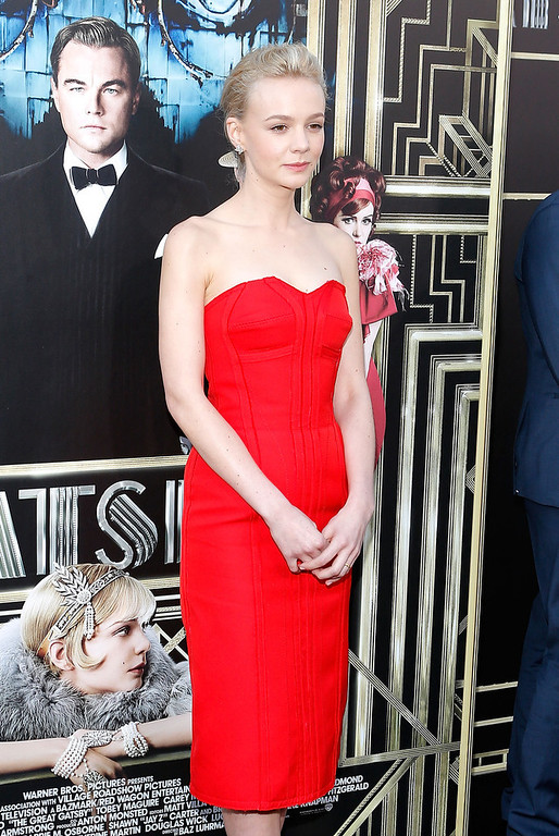 ". Actress Carey Mulligan attends the ""The Great Gatsby\"" world premiere at Avery Fisher Hall at Lincoln Center for the Performing Arts on May 1, 2013 in New York City.  (Photo by Jemal Countess/Getty Images)"