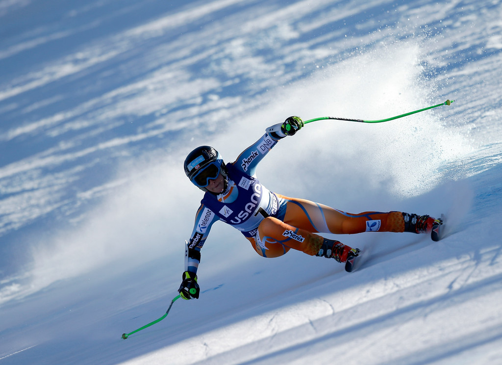 . Lotte Smiseth Sejersted of Norway in action during the FIS Beaver Creek Ladies\' Super G World Cup Race on November 30, 2013 in Beaver Creek, Colorado.  (Photo by Ezra Shaw/Getty Images)