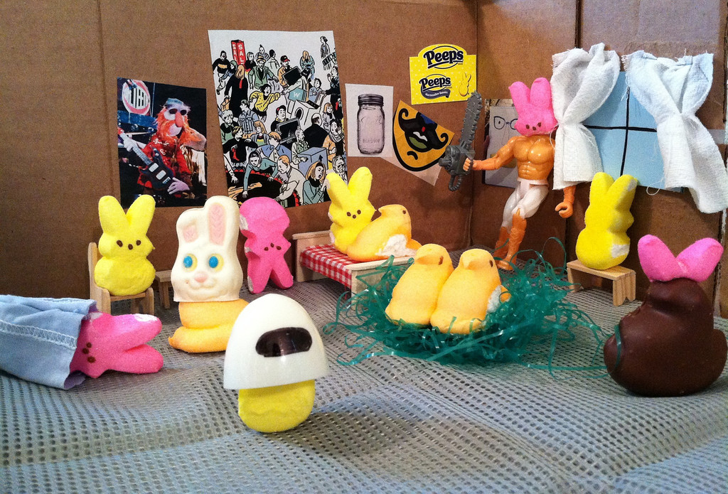 . Title: Harlem Shake (Peeps Edition)