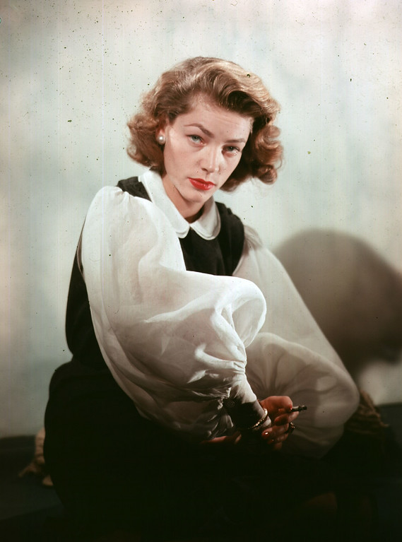 . American actress Lauren Bacall.    (Photo by Baron/Getty Images)