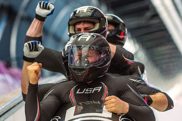 PHOTOS: Four-man bobsled at 2014 Sochi Winter Olympics – Feb. 23