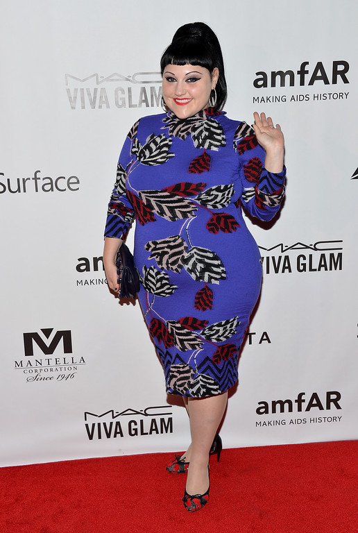 . Musician Beth Ditto attends amfAR Inspiration Gala during the 2013 Toronto International Film Festival on September 8, 2013 in Toronto, Canada.  (Photo by Amanda Edwards/Getty Images for amfAR)