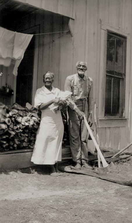 . Ex-slaves, Minerva & Edgar Bendy, Woodville. 1937 June 11. Library of Congress