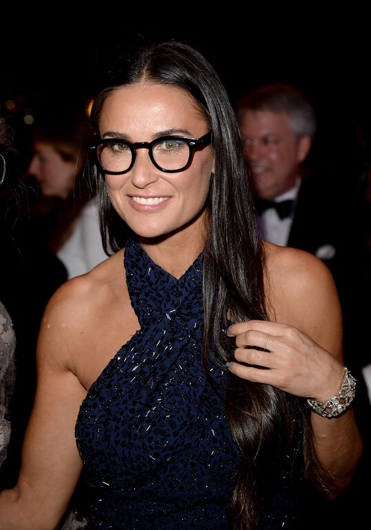 . BEVERLY HILLS, CA - OCTOBER 17:  Actress Demi Moore, wearing Ferragamo, attends the Wallis Annenberg Center for the Performing Arts Inaugural Gala presented by Salvatore Ferragamo at the Wallis Annenberg Center for the Performing Arts on October 17, 2013 in Beverly Hills, California.  (Photo by Jason Merritt/Getty Images for Wallis Annenberg Center for the Performing Arts)