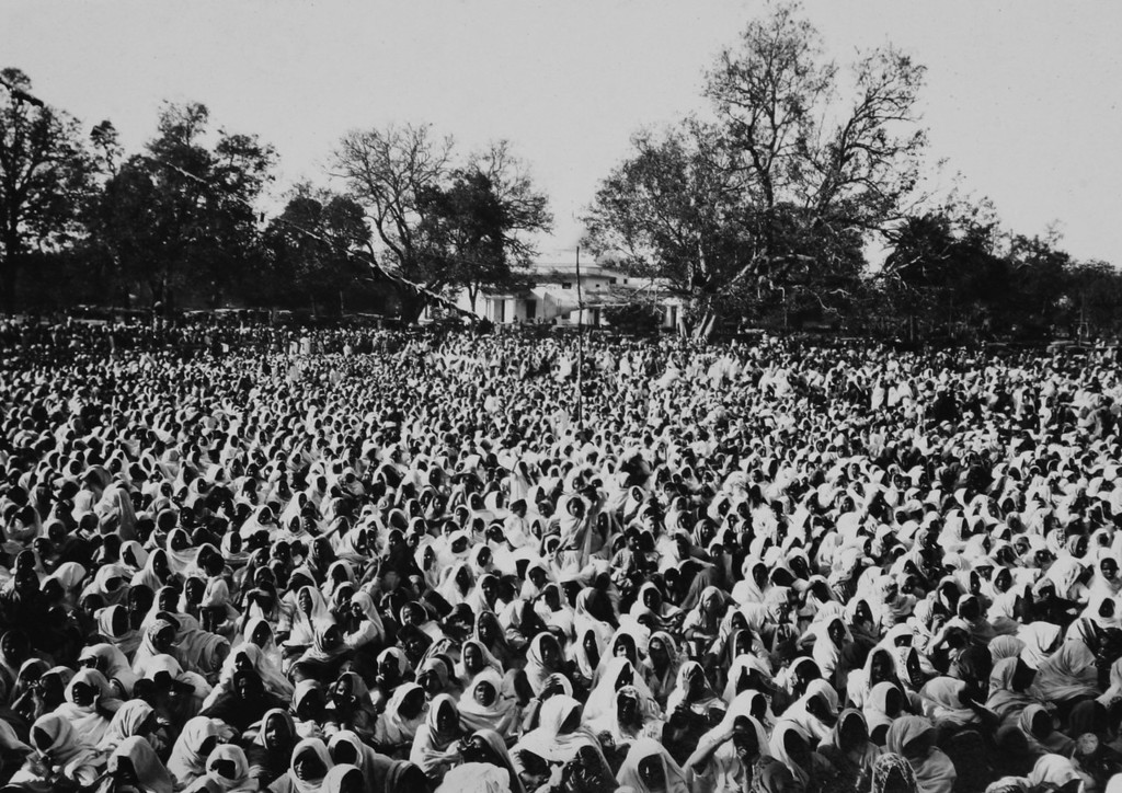 . Photo from a period album collected by AP reporter James A. Mills, ca. 1931, while Mills was covering Mahatma Gandhi and his followers. (AP Photo/James A. Mills collection)