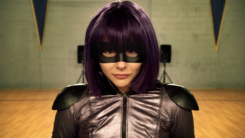 ". Chlo� Grace Moretz returns as Hit Girl in ""Kick-Ass 2.\"" Provided by Universal."