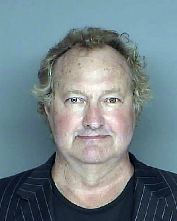 . This police booking photo released Monday April 26,2010 by the Santa Barbara County Sheriff\'s Department shows Randy Quaid after his arrest in Santa Barbara, Calif. Randy and his wife Evi Quaid showed up in a criminal courtroom two weeks late Monday and were arrested on outstanding warrants, authorities said. (AP Photo/Santa Barbara County Sheriff\'s Department)