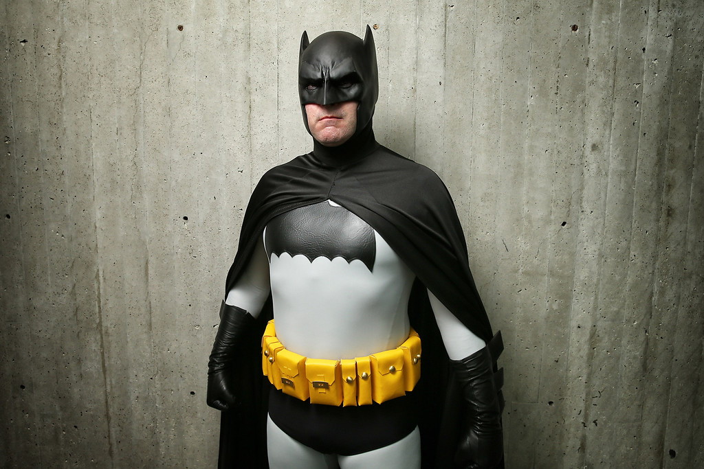 . Cosplay fans attend the second day of New York Comic Con 2013 at The Jacob K. Javits Convention Center on October 11, 2013 in New York City.  (Photo by Neilson Barnard/Getty Images)