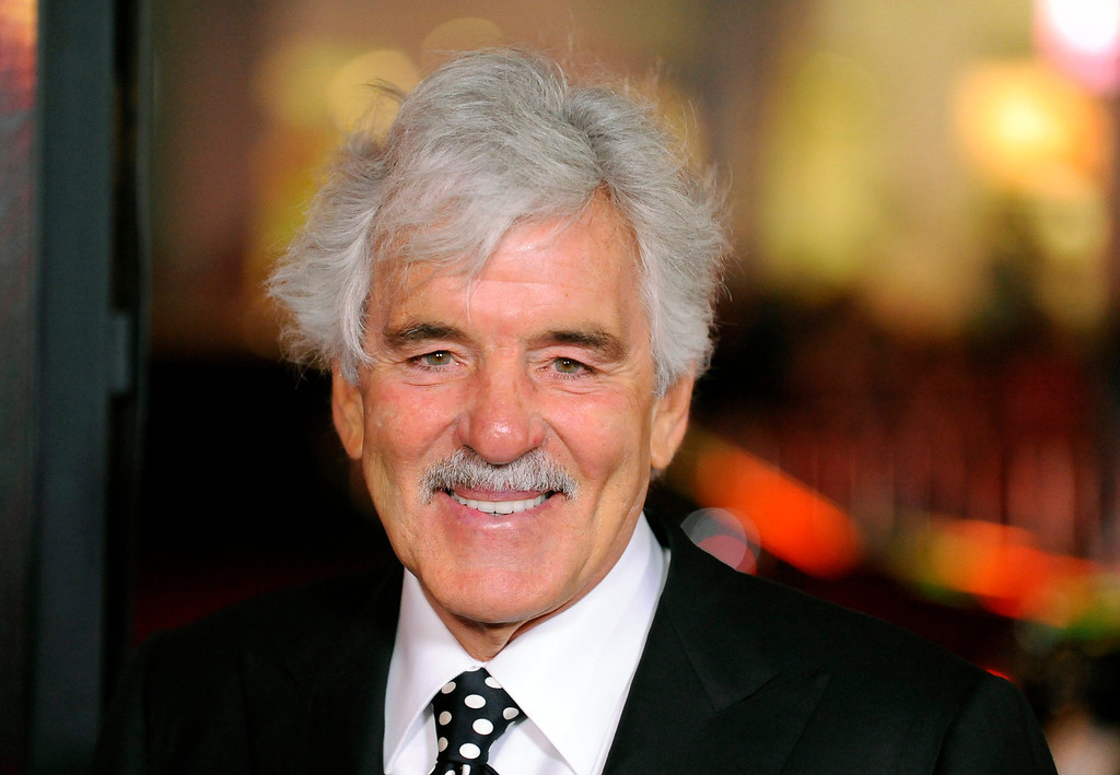 ". Actor Dennis Farina arrives at the Hollywood premiere of the HBO series ""Luck\"" in Los Angeles, California in this file photo taken January 25, 2012.   REUTERS/Gus Ruelas/Files"