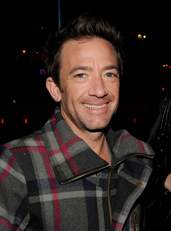 """. Actor David Faustino arrives at the premiere of Relativity Media\'s \""""21 And Over\"""" at the Village Theatre on February 21, 2013 in Los Angeles, California.  (Photo by Kevin Winter/Getty Images)"""