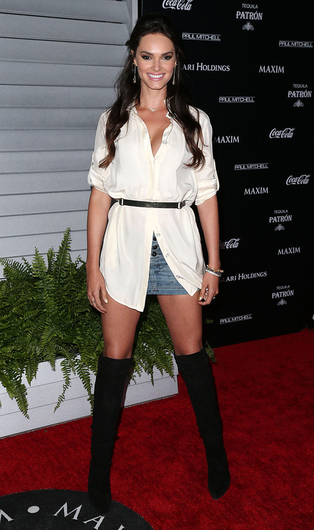 . Model Lisalla Montenegro attends Maxim Hot 100 Event at the Pacific Design Center on June 10, 2014 in West Hollywood, California.  (Photo by Frederick M. Brown/Getty Images)