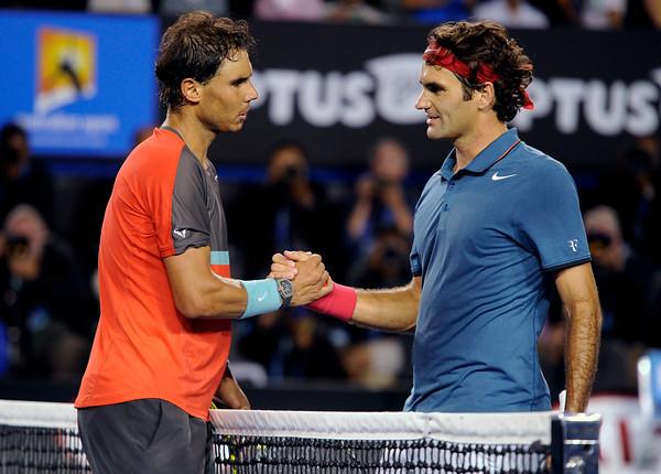 PHOTOS: Nadal defeats Federer in Australian Open Tennis Semifinals, January 24, 2014