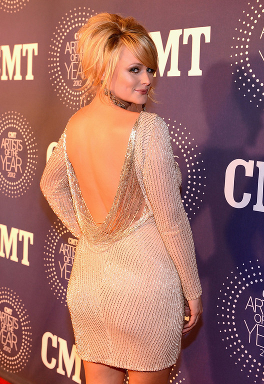 . Miranda Lambert attends 2012 CMT Artists Of The Year at The Factory at Franklin on December 3, 2012 in Franklin, Tennessee.  (Photo by Rick Diamond/Getty Images for CMT)