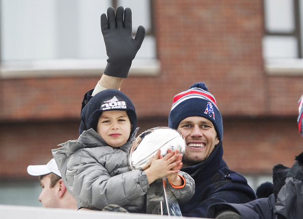 PHOTOS: New England Patriots Super Bowl victory parade