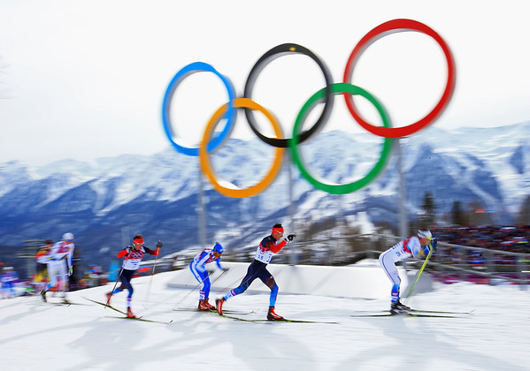 PHOTOS: Men's Skiathon and Ski jumping, Sochi Olympics Nordic events for Feb 9, 2014