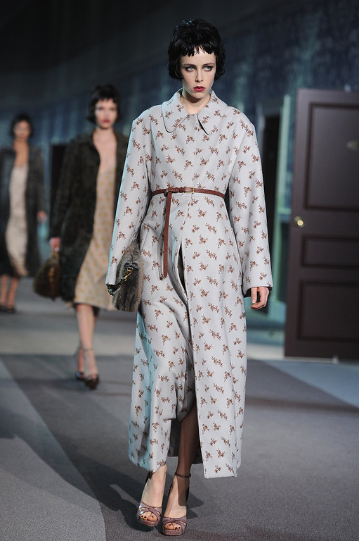 . Model walks the runway during Louis Vuitton Fall/Winter 2013 Ready-to-Wear show as part of Paris Fashion Week on March 6, 2013 in Paris, France.  (Photo by Pascal Le Segretain/Getty Images)