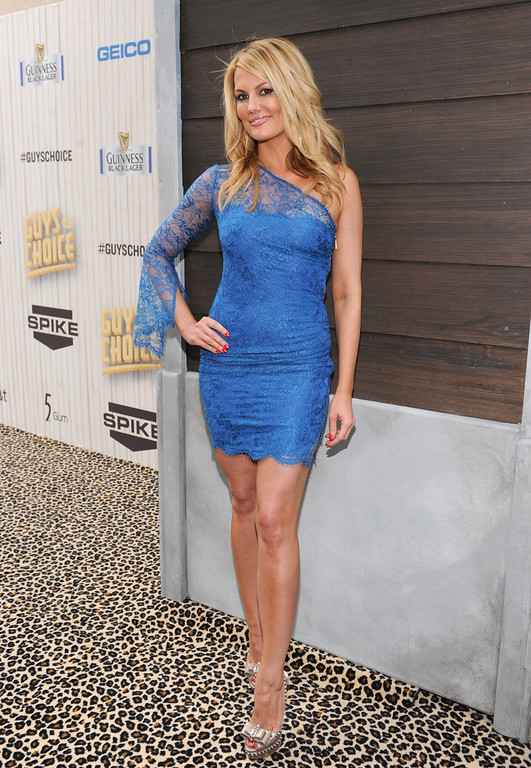 . Courtney Hansen arrives at Spike TV\'s Guys Choice Awards at Sony Pictures Studios on Saturday, June 8, 2013, in Culver City, Calif. (Photo by Frank Micelotta/Invision/AP)