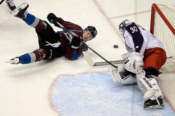 PHOTOS: Colorado Avalanche vs. Columbus Blue Jackets,  Jan. 4, 2015