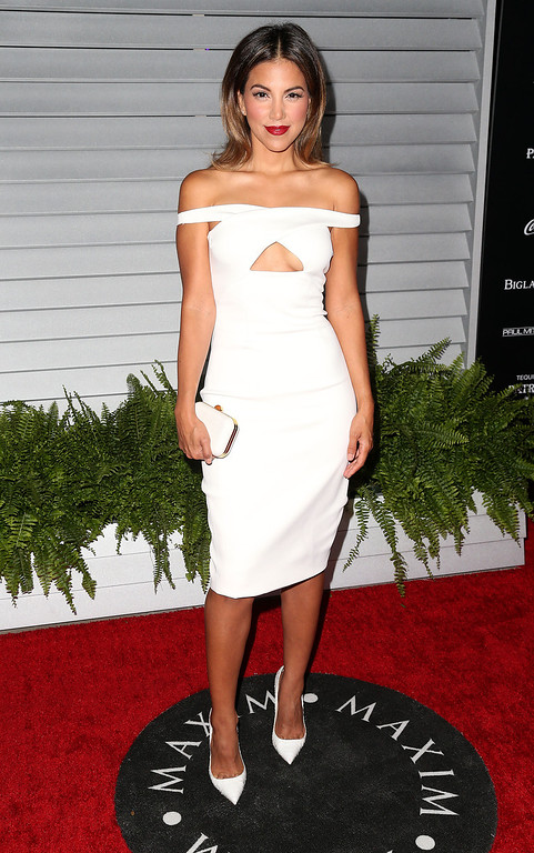 . TV Personality Liz Hernandez attends Maxim Hot 100 Event at the Pacific Design Center on June 10, 2014 in West Hollywood, California.  (Photo by Frederick M. Brown/Getty Images)