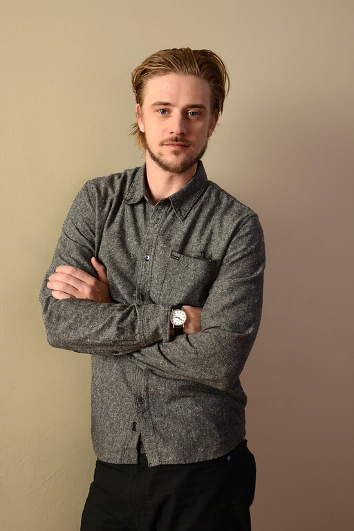. Actor Boyd Holbrook poses for a portrait during the 2014 Sundance Film Festival at the WireImage Portrait Studio at the Village At The Lift on January 21, 2014 in Park City, Utah.  (Photo by Larry Busacca/Getty Images)