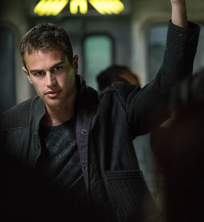 . THEO JAMES stars in DIVERGENT