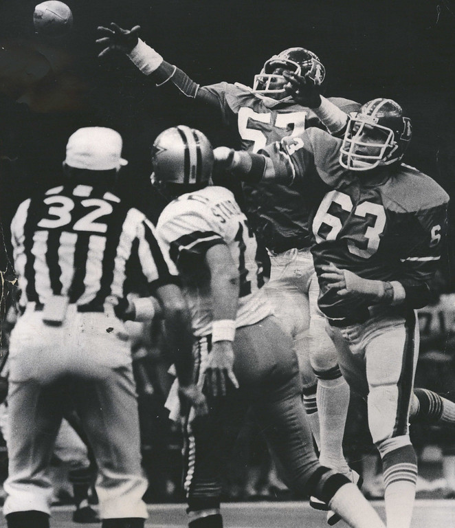 . JAN 11 1978 - Denver Broncos, Super Bowl. (Kenn Bisio/The Denver Post)