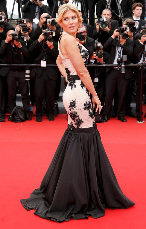 ". Actress and model Hofit Golan poses on the red carpet as she arrives for the screening of the film ""Inside Llewyn Davis\"" in competition during the 66th Cannes Film Festival in Cannes May 19, 2013.  REUTERS/Regis Duvignau"