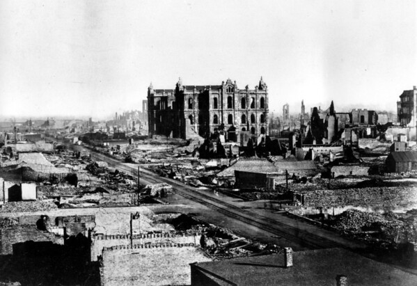 PHOTOS: Today In History: Great Chicago Fire
