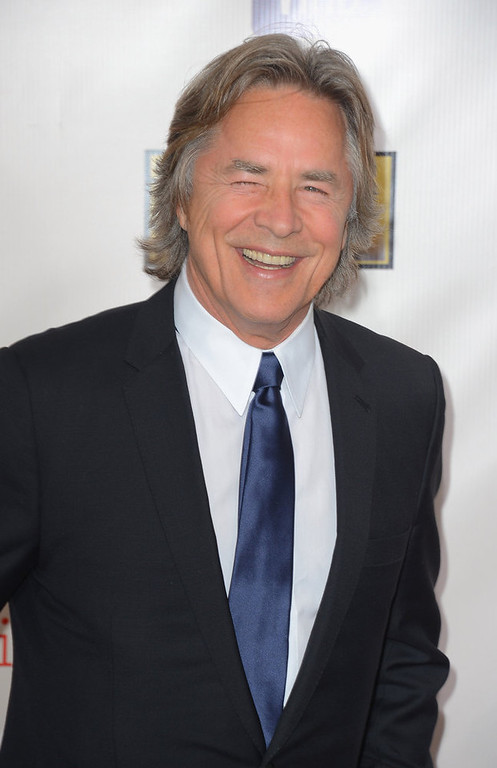 . Actor Don Johnson arrives at the 18th Annual Critics\' Choice Movie Awards at Barker Hangar on January 10, 2013 in Santa Monica, California.  (Photo by Frazer Harrison/Getty Images)