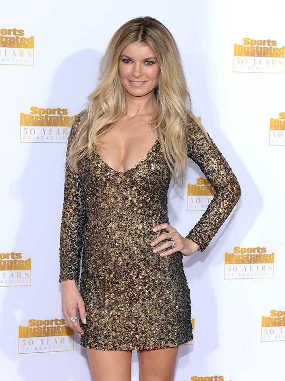 . Model Marisa Miller attends NBC and Time Inc. celebrate the 50th anniversary of the Sports Illustrated Swimsuit Issue at Dolby Theatre on January 14, 2014 in Hollywood, California.  (Photo by Dimitrios Kambouris/Getty Images)