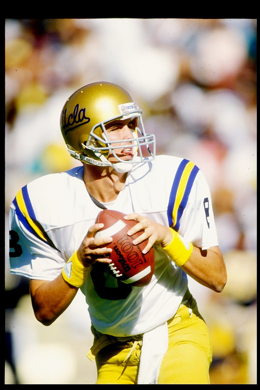 . 3. Tommy Maddox, QB, UCLA, 1992 First round, No. 25 overall: The Dan Reeves-John Elway feud reached its crescendo with this curious choice. Elway was far from finished. Maddox was 0-4 lifetime with the Broncos, although he did enjoy a weird career renaissance in the XFL in 2001 � nine years after he was drafted. (Otto Greule/Allsport)