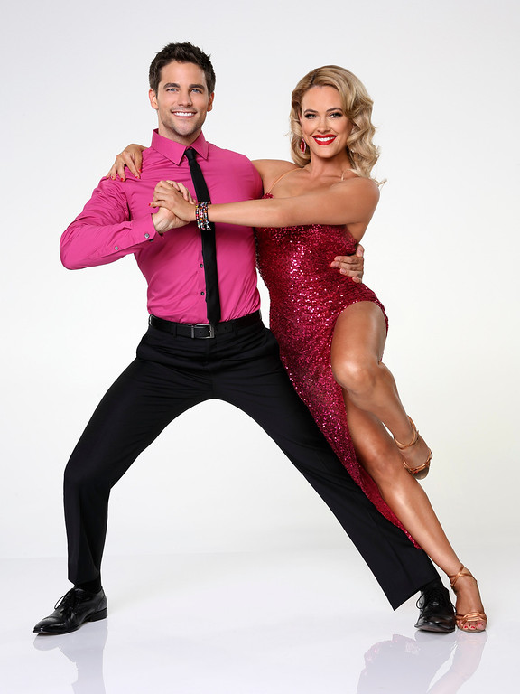 ". DANCING WITH THE STARS - BRANT DAUGHERTY & PETA MURGATROYD - Brant Daugherty partners with Peta Murgatroyd. ""Dancing with the Stars\"" returns for Season 17 on MONDAY, SEPTEMBER 16 (8:00-10:01 p.m., ET), on the ABC Television Network. (ABC/Craig Sjodin)"