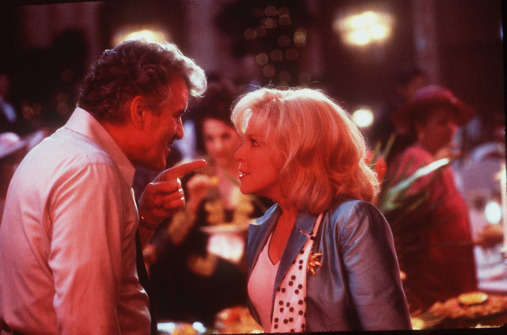 ". 1997 Bette Midler And Dennis Farina Stars In ""That Old Feeling\"" (Photo By Getty Images)"