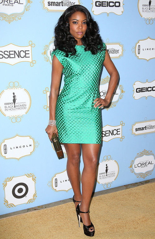 . Actress Gabrielle Union attends the Sixth Annual ESSENCE Black Women In Hollywood Awards Luncheon at the Beverly Hills Hotel on February 21, 2013 in Beverly Hills, California.  (Photo by Frederick M. Brown/Getty Images)