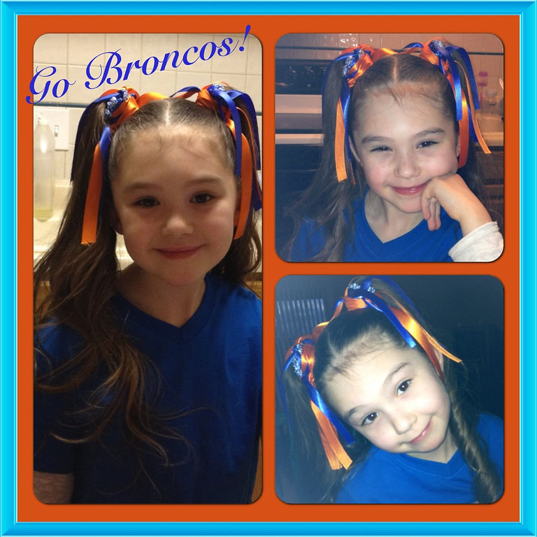 . Gabriella the Little Lady Bronco Fan! Brooke Lonergan