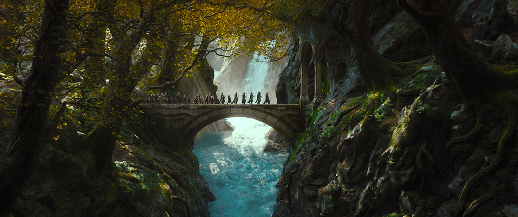 ". 2014 Academy Award Nominee for Best Visual Effects: ""The Hobbit: The Desolation of Smaug.\"" (AP Photo/Warner Bros. Pictures)"