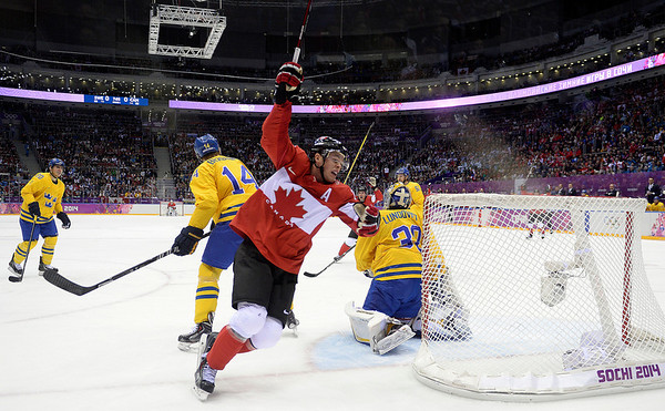 PHOTOS: Gold Medal Hockey – Sweden vs. Canada, 2014 Sochi Winter Olympics