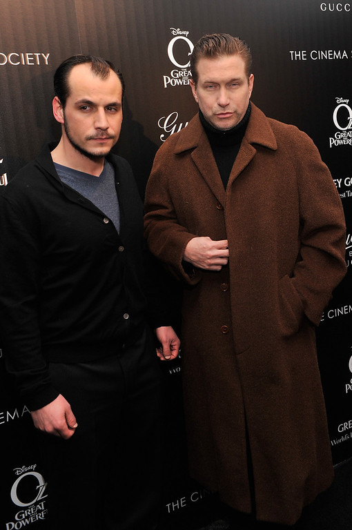". Stephen Baldwin (R) attends the Gucci and The Cinema Society screening of ""Oz the Great and Powerful\"" at the DGA Theater on March 5, 2013 in New York City.  (Photo by Stephen Lovekin/Getty Images)"