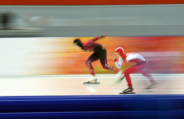 PHOTOS: Women's 5000m Speed Skating at 2014 Sochi Winter Olympics