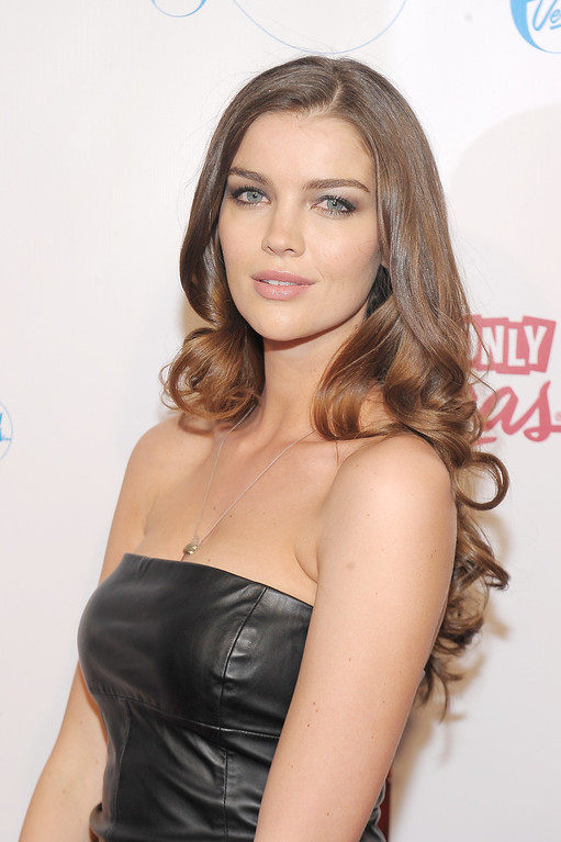 . NEW YORK, NY - FEBRUARY 12:  Model Natasha Barnard attends as Sports Illustrated celebrates SI Swimsuit 2013 with a star-studded red carpet kickoff event at Crimson on February 12, 2013 in New York City.  (Photo by Michael Loccisano/Getty Images for Sports Illustrated)
