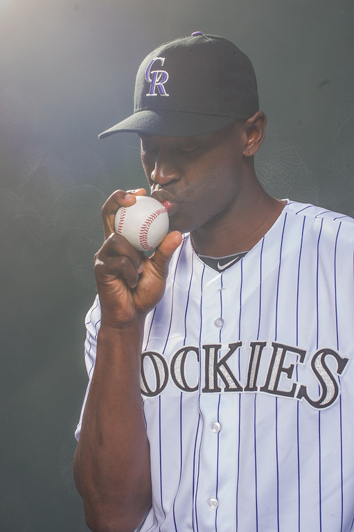 . 32 LaTroy Hawkins Position: RHP Height: 6-5 Weight: 219 Expectations: At age 41, Hawkins can still throw a 94 mph fastball. He opens the season as the closer but likely will share that role with Rex Brothers. It�s fair to ask how much he has left in the tank.   2014 salary: $2.5 million (Photo by Rob Tringali/Getty Images)