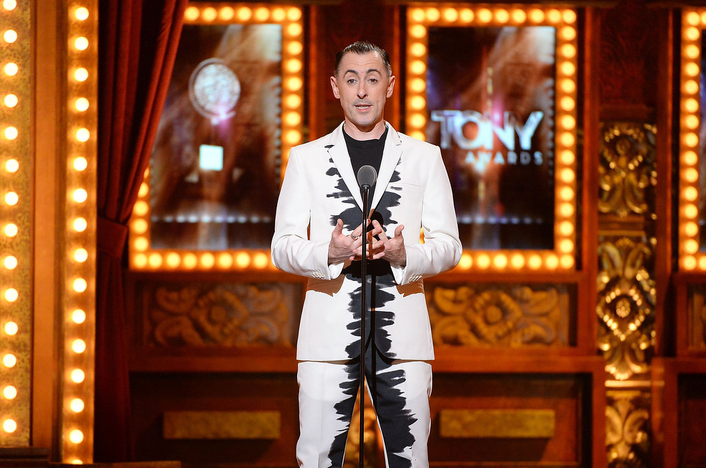 . Alan Cumming speaks onstage during the 68th Annual Tony Awards at Radio City Music Hall on June 8, 2014 in New York City.  (Photo by Theo Wargo/Getty Images for Tony Awards Productions)