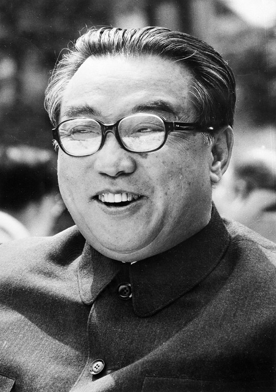 . North Korean President Kim Il Sung shown in file photo dated July 1976.    (STR/AFP/Getty Images)