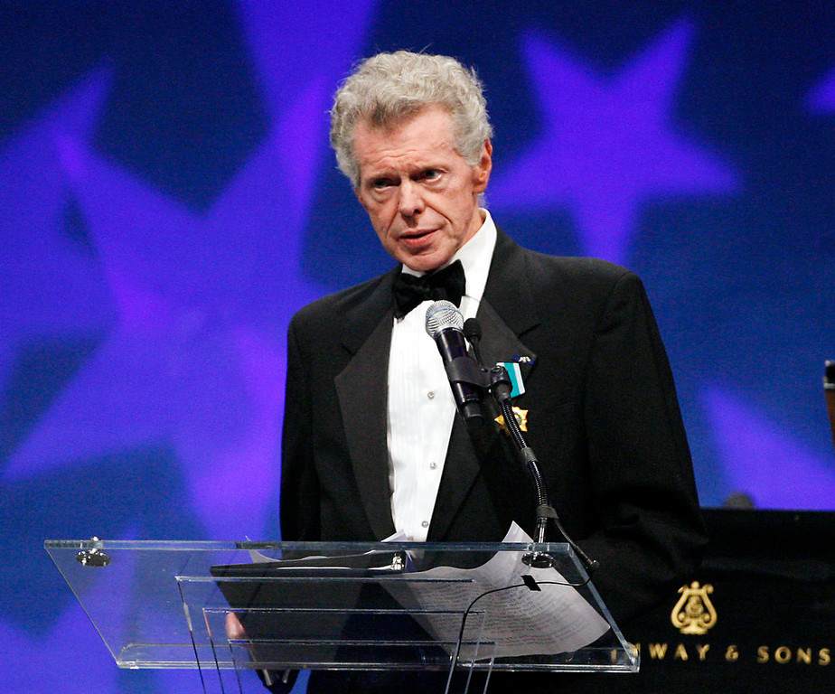 . Pianist Van Cliburn at the presentation ceremony of the Liberty Medal that was presented to former President of the Soviet Union Mikhail Gorbachev in Philadelphia on Sept. 18, 2008. Cliburn, the internationally celebrated pianist whose triumph at a 1958 Moscow competition helped thaw the Cold War and launched a spectacular career that made him the rare classical musician to enjoy rock star status  died early Wednesday, Feb. 27, 2013, at his Fort Worth home following a battle with bone cancer.  (AP Photo/Tom Mihalek, file)