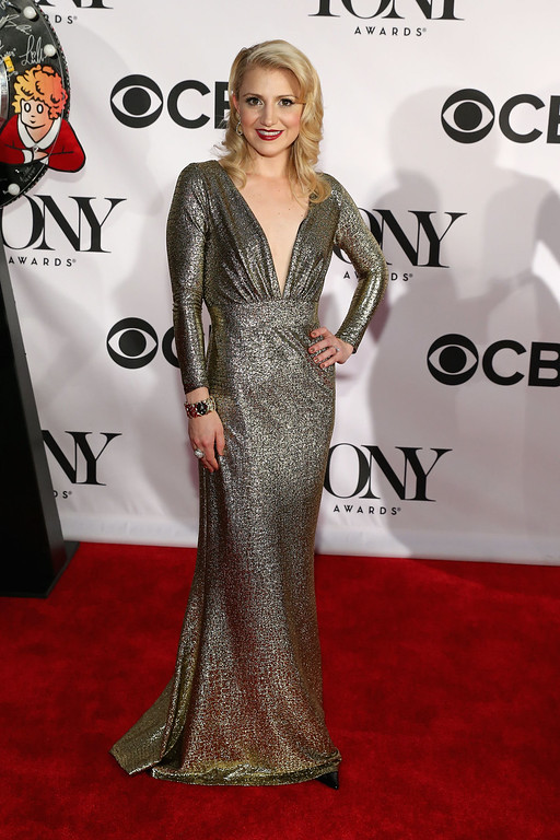 . Actress Annaleigh Ashford attends The 67th Annual Tony Awards  at Radio City Music Hall on June 9, 2013 in New York City.  (Photo by Neilson Barnard/Getty Images)