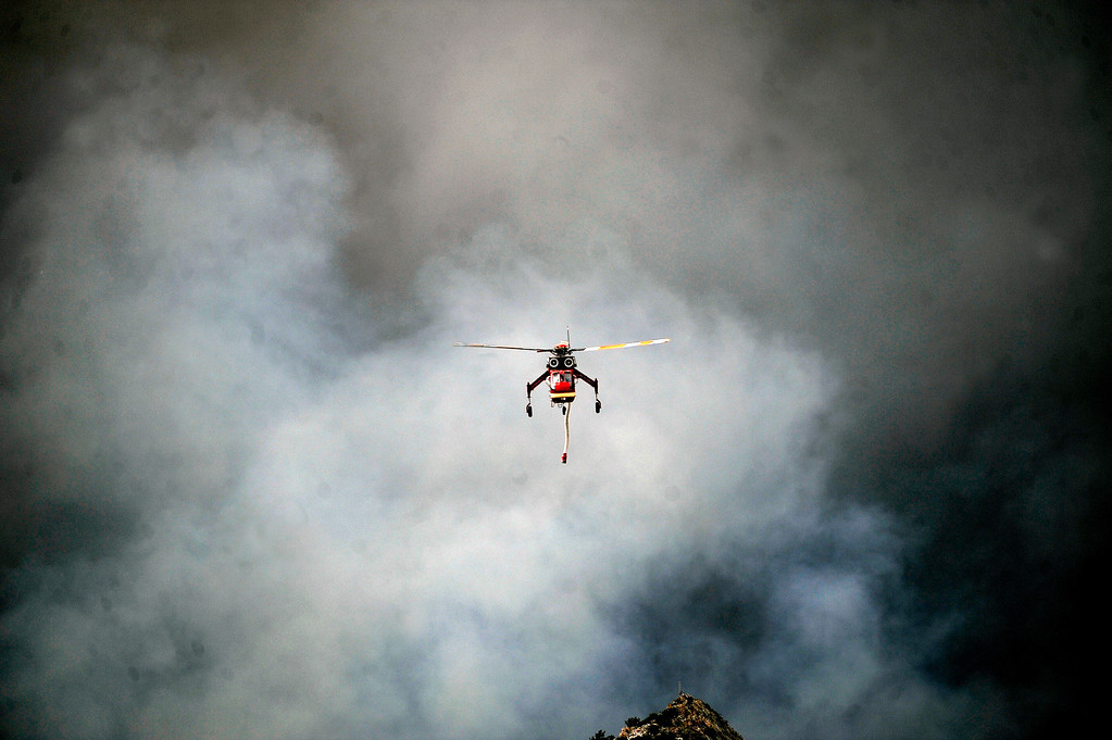 . The Waldo Canyon fire exploded on June 26th, 2012.  The Waldo Canyon fire continued to burn northwest of Manitou Springs, Colorado on June 26th, 2012.  Helen H. Richardson, The Denver Post