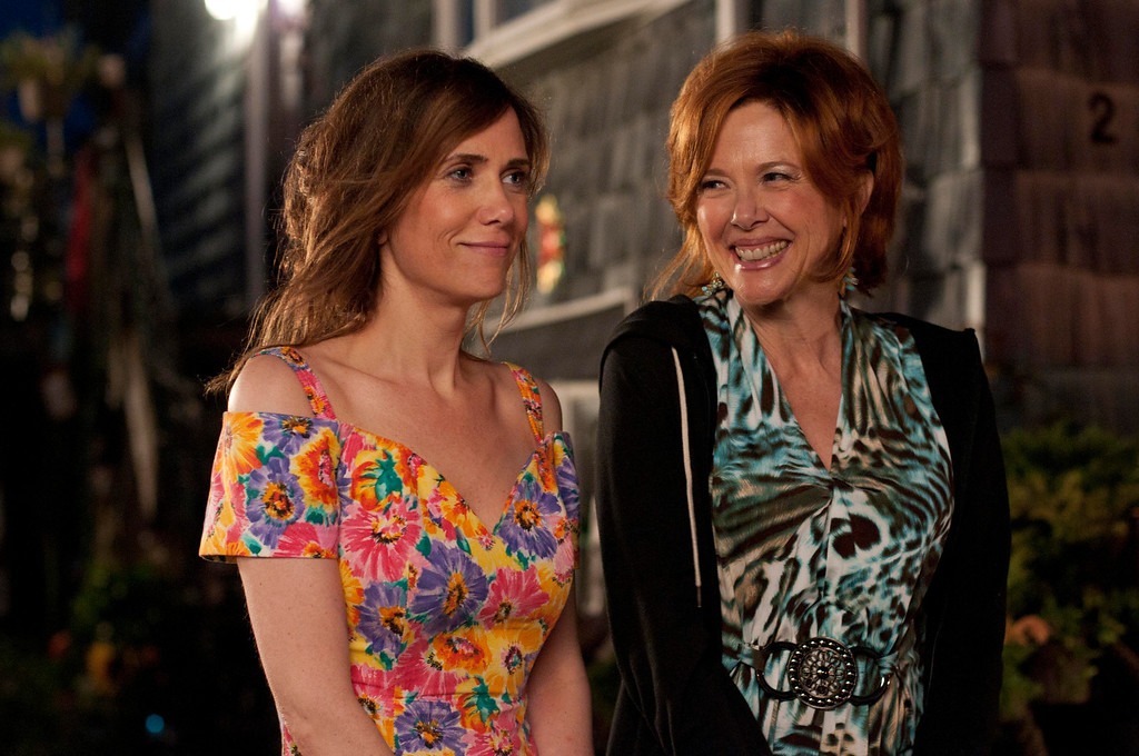 ". Left to right. Kriten Wiig as Imogene with Annette Bening, her mother in ""Girl Most Likely.\"" Provided by Roadside Attractions."